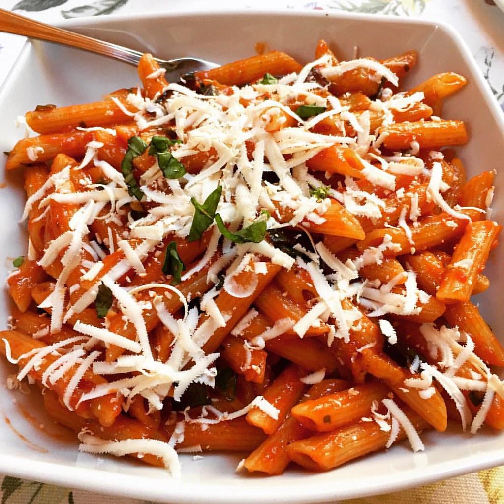 Sicilian norma pasta
