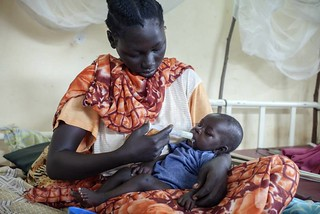 UNHCR News Story: South Sudan: UNHCR tackles a health crisis | by UNHCR