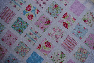 Anne's Quilt - detail | by QOB