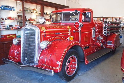1939 Ward Lafrance Fire Engine 1 Photographed At The Usa