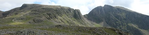 Scafell Pike and Scafell | by tik_tok