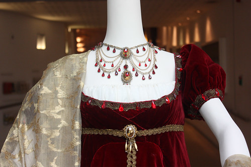 Detail of costume worn by Maria Callas as Tosca, 1964 © 2012, Royal Opera House/Royal Opera House Collections | by Royal Opera House Covent Garden