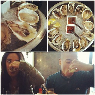 Oysterfest with @alexandragamazon and @neilsecondez. #yummerz | by kisokiso