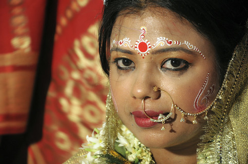 The bengali bride | by Tapas Biswas