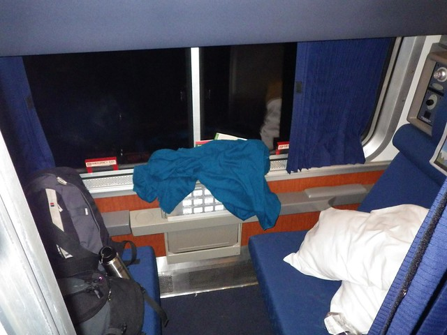 First Class Sleeper Car Amtrak Coast Starlight Train Emeryville To Seattl