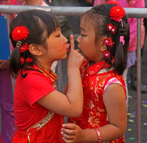 Autumn Moon Festival 2012, San Francisco, California Youngest Dancers | by cetch1