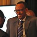 H.E. President Paul KAGAME, President, Republic of Rwanda and Dr. Hamadoun I. Touré, Secretary - General, ITU at the 6th Broadband Commission Meeting, New York, NY 23 September 2012.