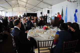 UN Women Executive Director Michelle Bachelet calls for action to ensure the rule of law guarantees women's equal rights, equal opportunities and equal participation during the High-level Lunch Event on Strengthening Women's Access to Justice | by UN Women Gallery