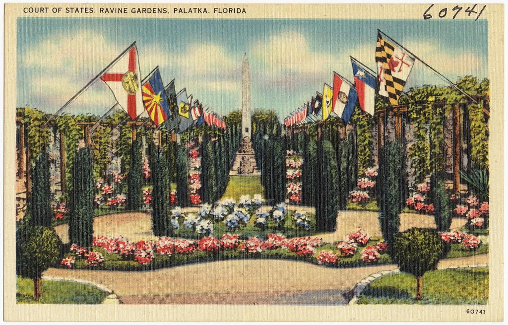 Court Of States Ravine Gardens Palatka Florida File Nam Flickr