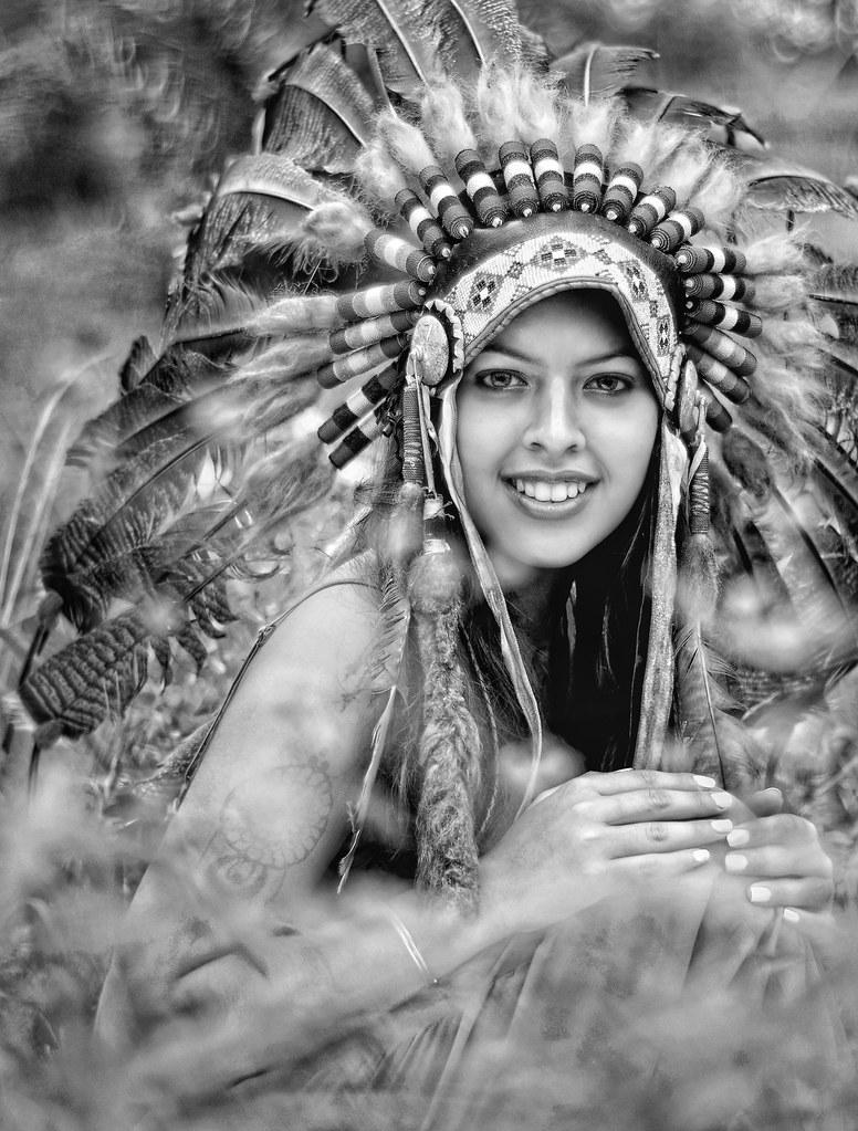 Portrait of Apache Girl | Azlyra Karmelia | Amir Rodof ...