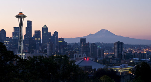 Seattle at Sunrise | by Joey_porma