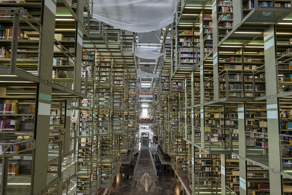 Library In Mexico City