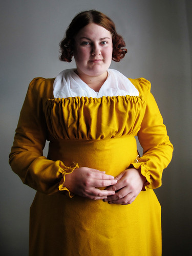 Yellow regency gown - 6