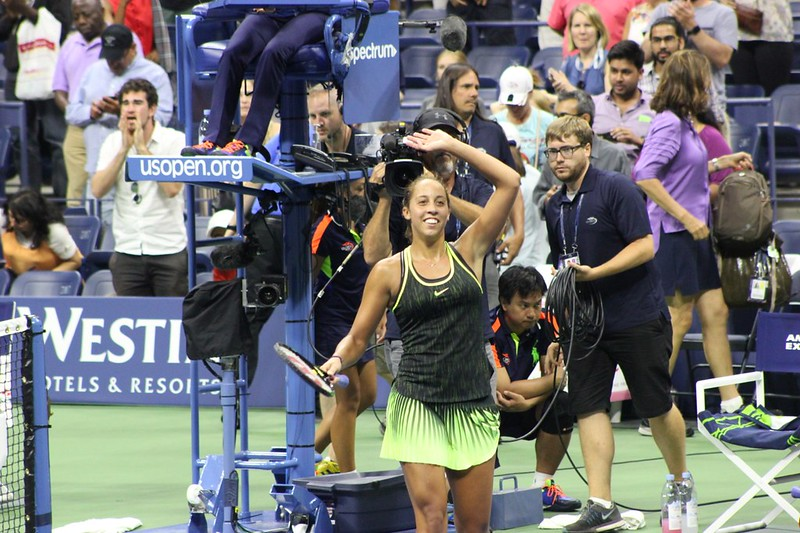 Madison Keys | by Michael C Dunne