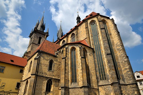 Prague : Back of the Church of Our Lady before Týn  1/2 | by Pantchoa