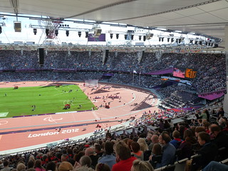London Olympic Stadium - track and pitch | by d0gwalker