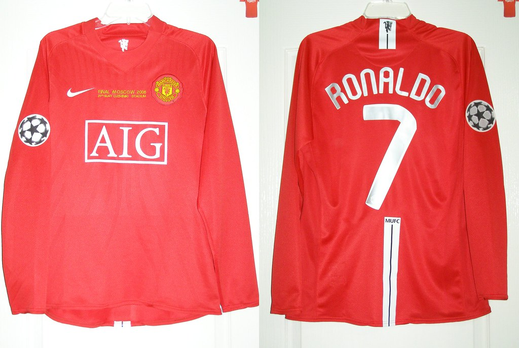 manchester united 2007 2009 home champions league final 2