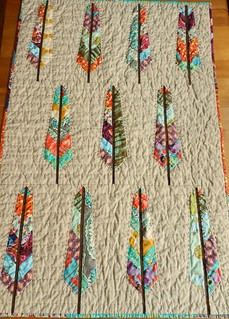 feather bed quilt | by Mary @ Molly Flanders