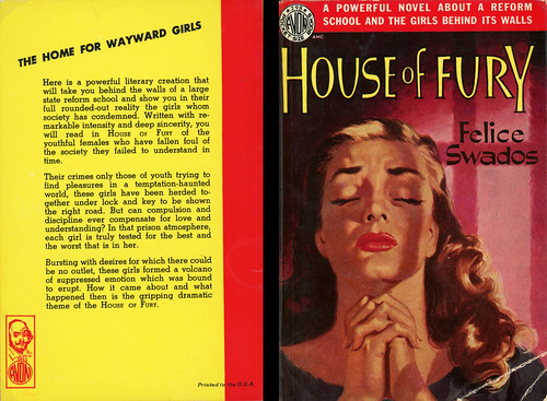 Avon Books 298 - Felice Swados - House of Fury (with back) | by swallace99