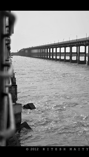 Pamban Bridge | Rameswaram | Tamil Nadu | by Ritesh Maity Photography