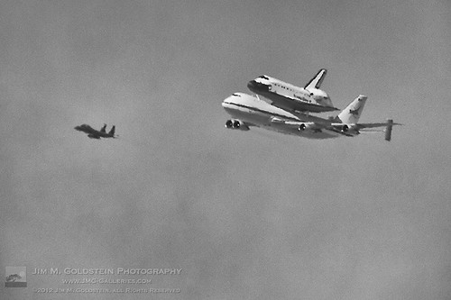 Space Shuttle Endeavor on the SCA | by jimgoldstein