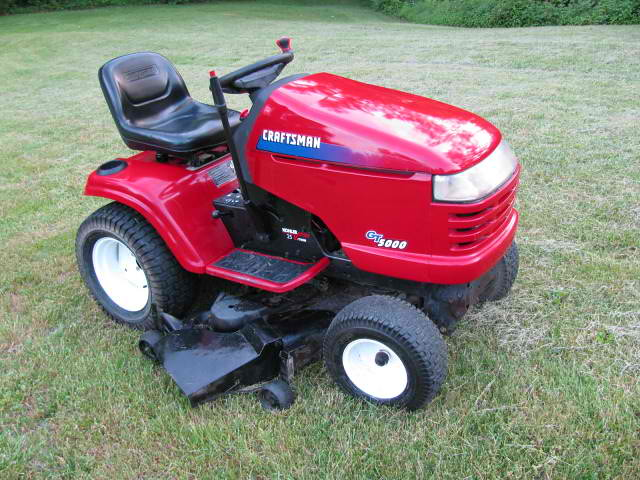 2008 Craftsman Gt 5000 Lawn Tractor Mower Trades Welcome