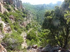 Le chemin de la Montagne aux Plages avec ses magnifiques soutènements