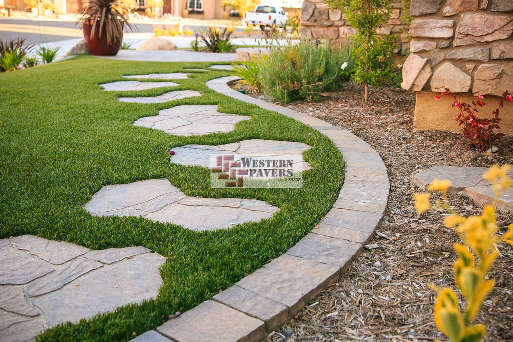 Pavers Paver Mow Strip Western Pavers Flickr