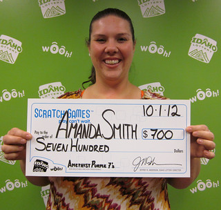 Amanda Smith - $700 Amethyst Purple 7's | by Idaho Lottery