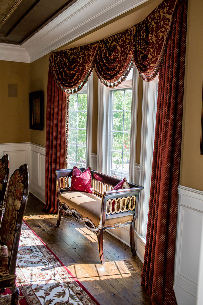 Dining Room Window Treatments Custom Window Treatments