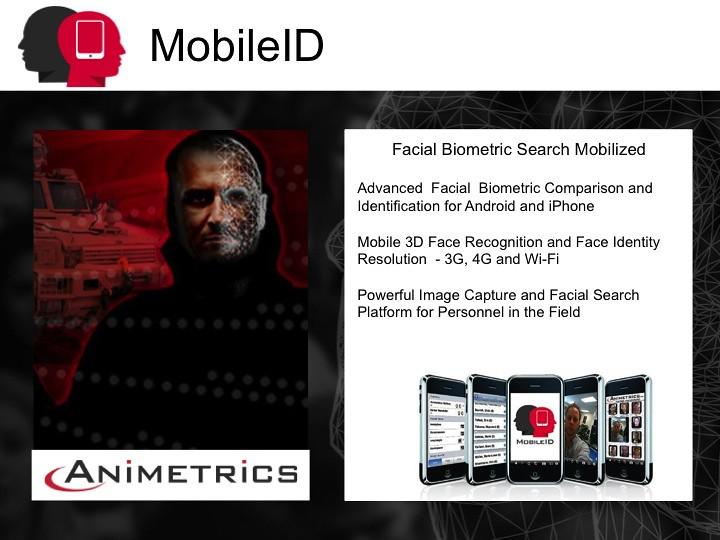 Animetrics MobileID | Facial Biometric Search Mobilized Adva… | Flickr