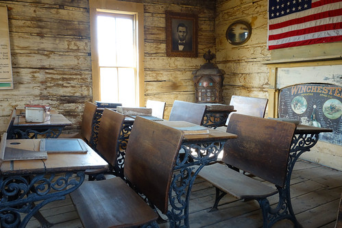Cody Old trail town - schoolroom | by julesberry2001