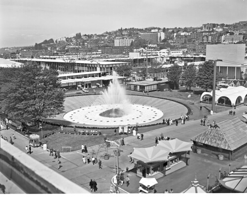 International Fountain at World's Fair, 1962 | by Seattle Municipal Archives
