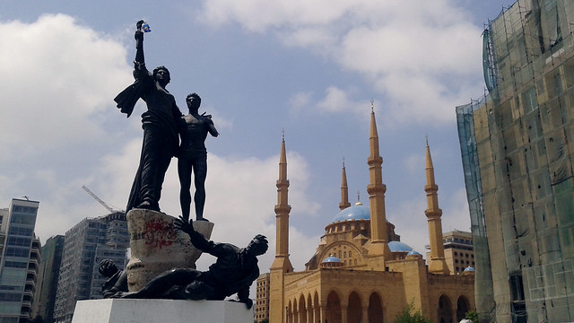 Martyrs' Statue