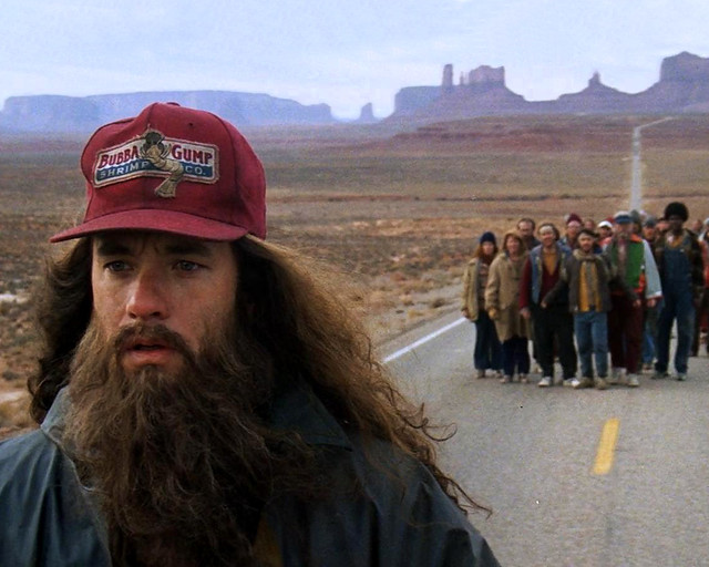 Forrest Gump Point en la carretera de Monument Valley