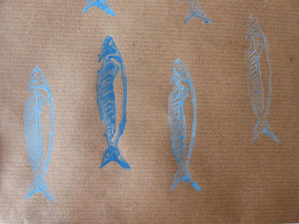 sardines sur kraft