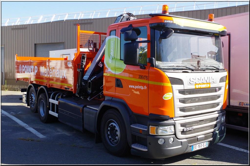 Scania g340 mat riaux point p paris f 75 rungis f 94 flickr - Showroom point p paris ...