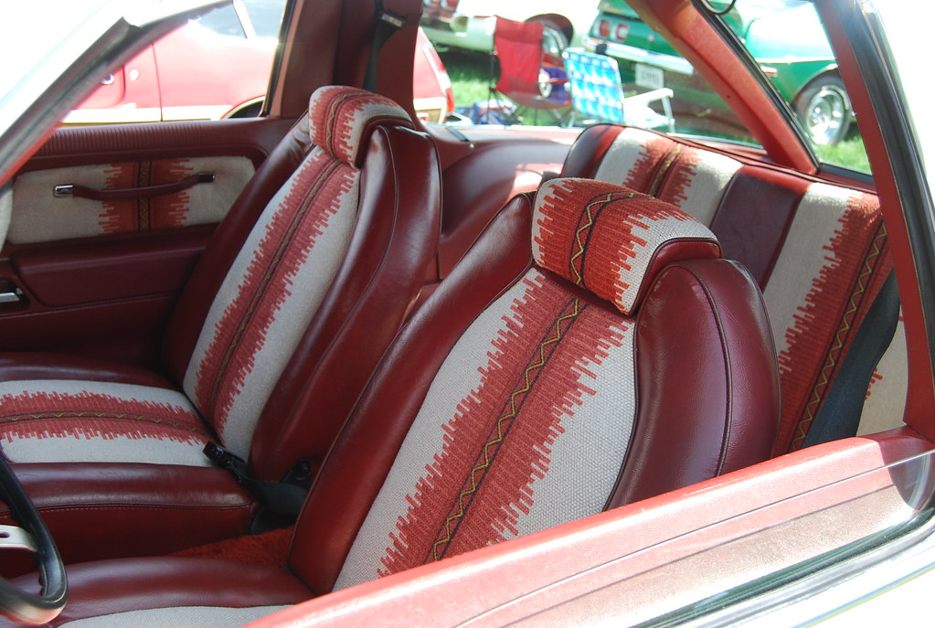 Amc Pacer Dl Interior Love The Red Native American Inspire Flickr