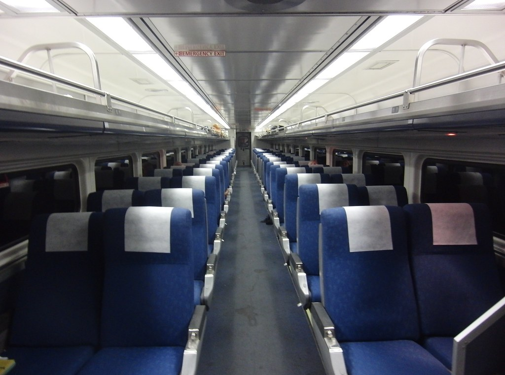 amtrak train interior coach the image kid has it. Black Bedroom Furniture Sets. Home Design Ideas