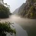 Mist over Matka Canyon