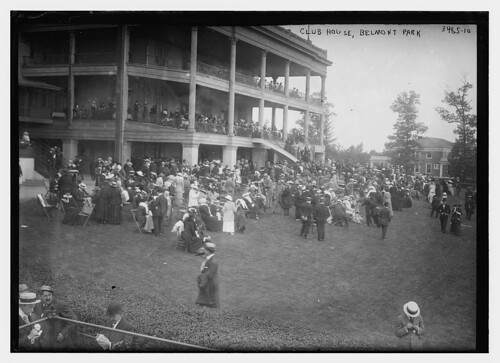 Club House, Belmont Park  (LOC) | by The Library of Congress