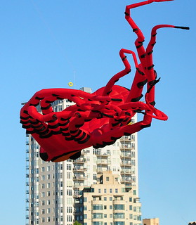 Giant Octopus Flying Over City! | by Eve'sNature