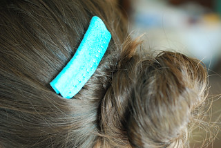 Fold Over Felt Hair Comb | by wildolive