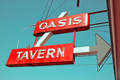 Oasis sign | by Vorona Photography