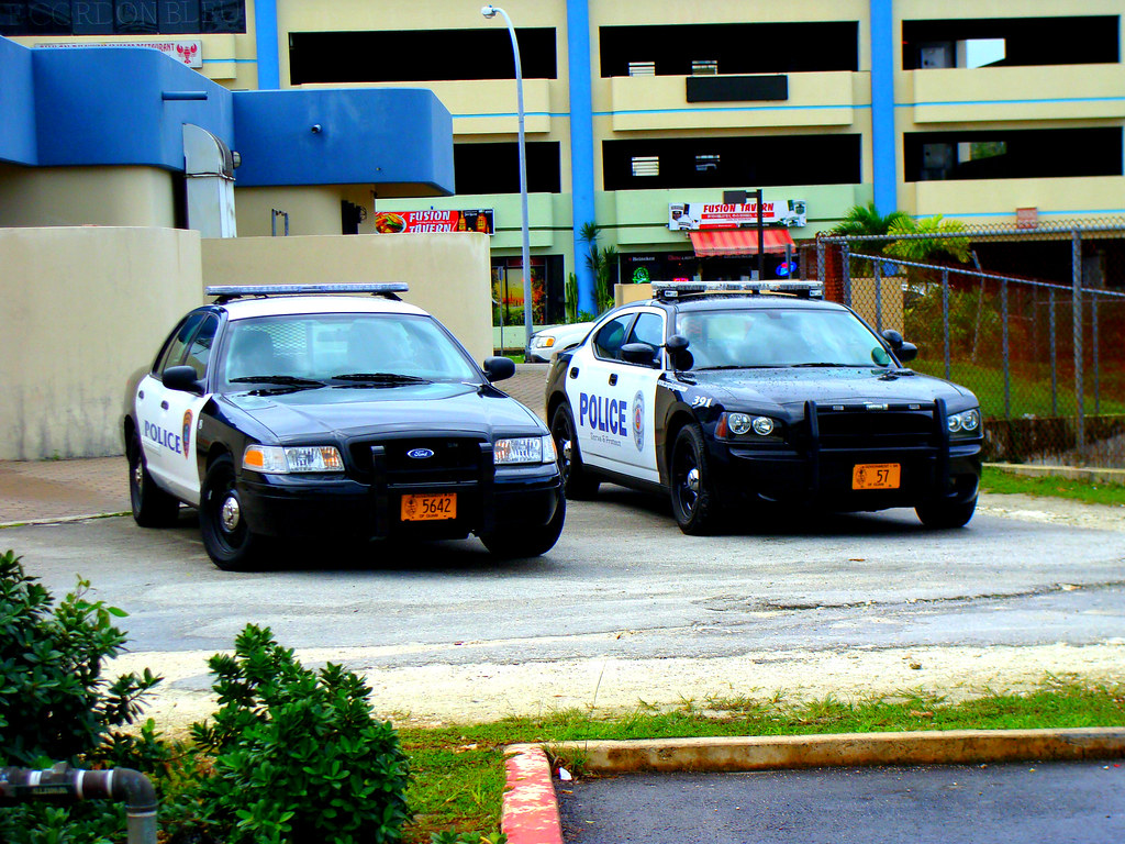Police Car In Guam Red Sonic885 Flickr