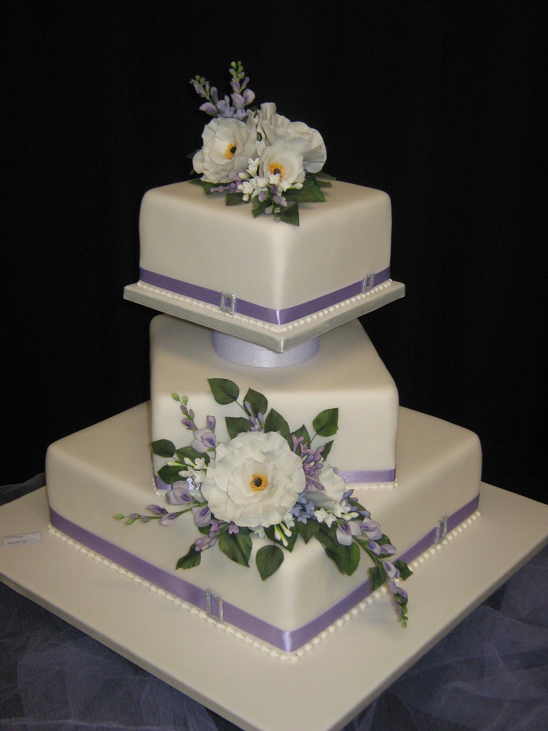 3 Tier Wedding Cake Open Wedding Cake Winner Best In