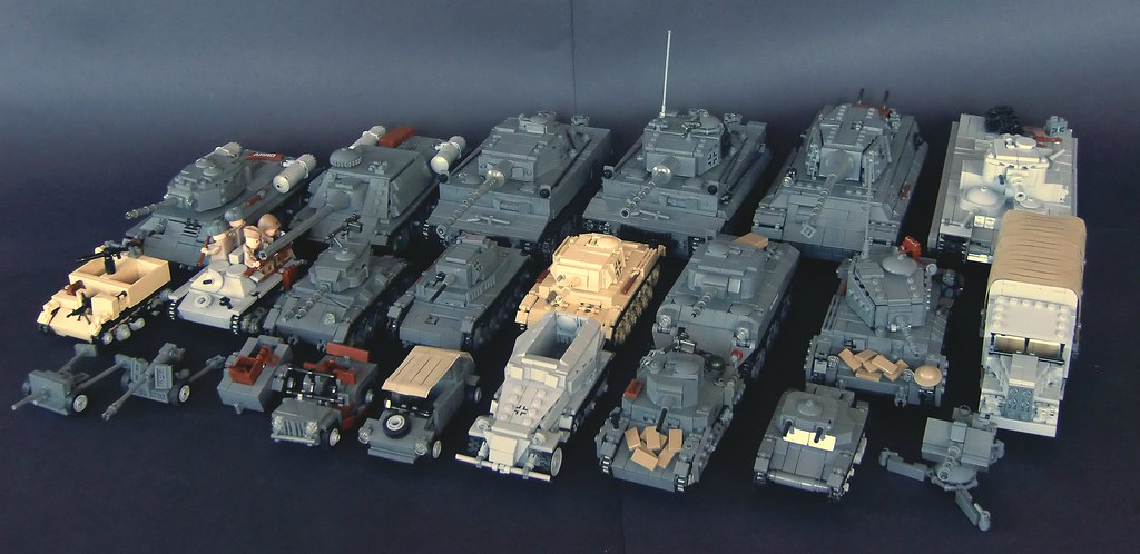 Lego Ww2 Army Of 2012 This Is All Vehicles I Have Built
