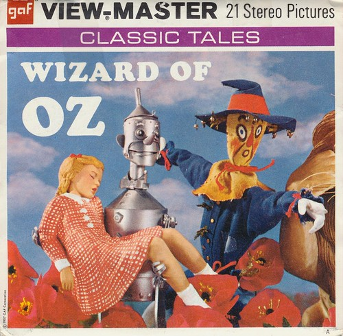 Wizard of Oz View-Master Reel | by The Cardboard America Archives