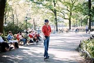 Central Park Rollerblader | by Ashley Baxter