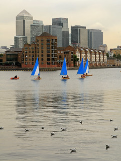 Greenland Dock Sailing | by stevedexteruk